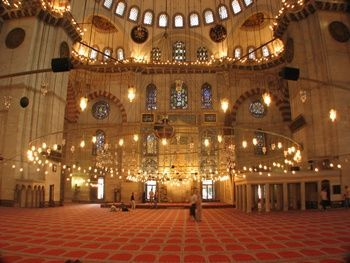 suleymaniye-mosque-interior