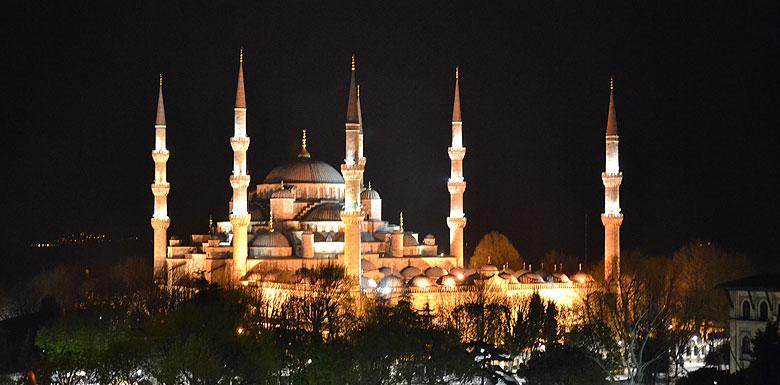 Süleymaniye Camii Gece