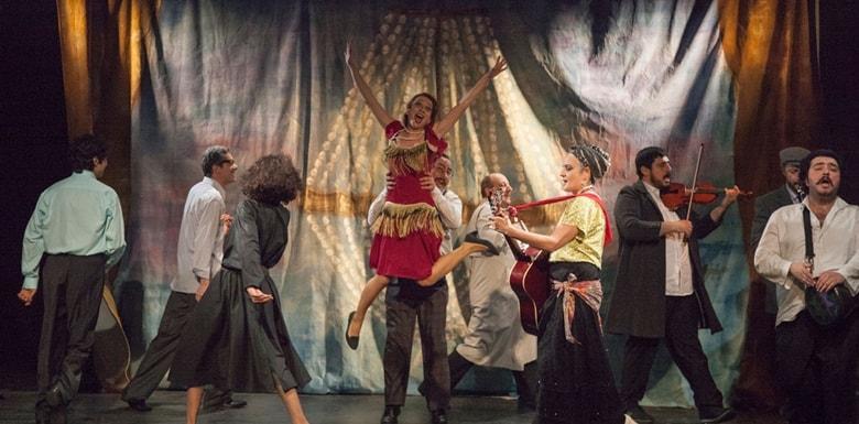 Tiyatro Yıldızları Açıkhavada