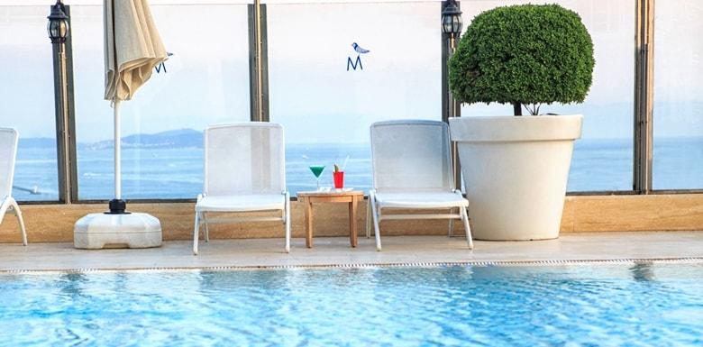 The Marmara Hotel İstanbul Havuzu