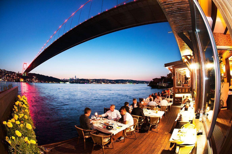 Restaurant by the Bosphorus