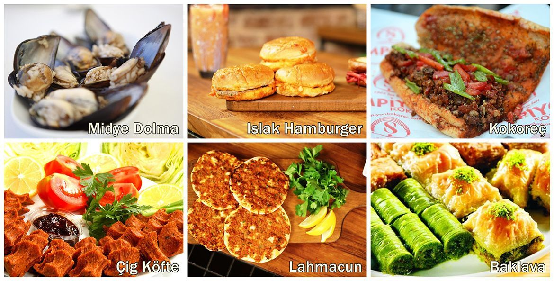 Turkish Food Compilation
