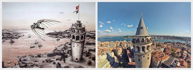 Galata Tower & Hezarfen