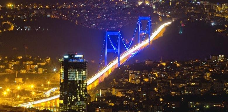 500T otobüs hattı ile istanbul gezisi