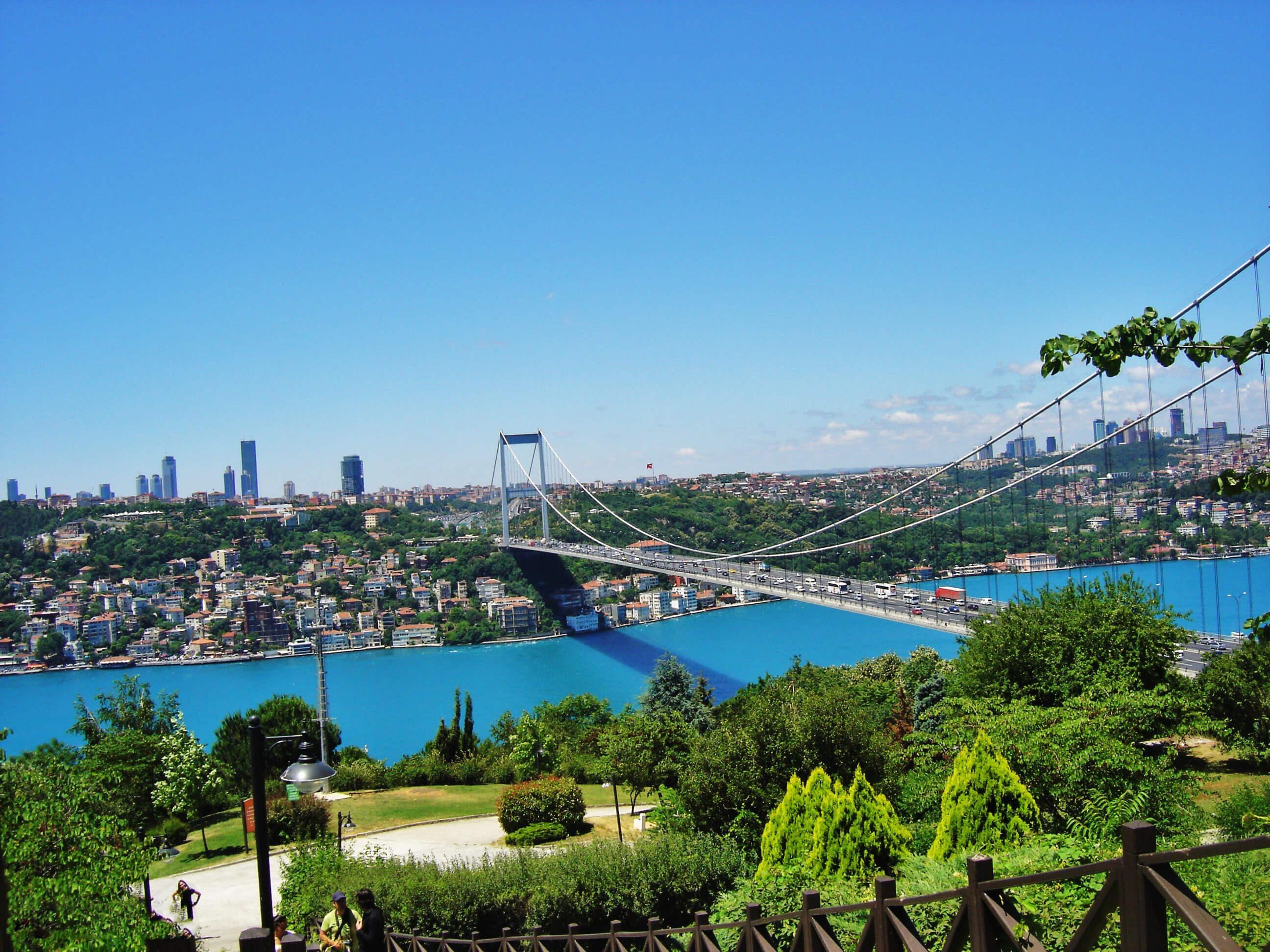 A Unique Scenery: Camlica Hill | Panoramic Bosphorus View
