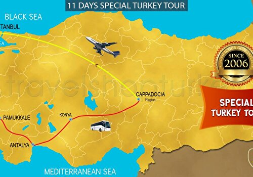 11 DAYS SPECIAL TURKEY TOUR