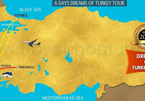 6 DAYS DREAMS OF TURKEY TOUR