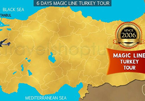 6 DAYS MAGIC LINE TURKEY TOUR