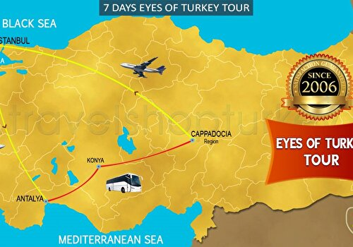 7 DAYS EYES OF TURKEY TOUR