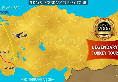 9 DAYS LEGENDARY TURKEY TOUR
