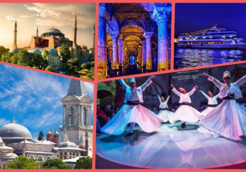 Best of Istanbul Attractions Combo