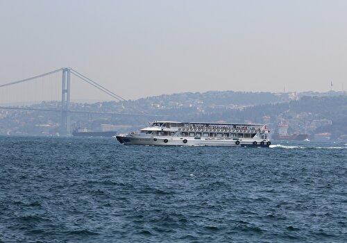 Bosphorus Cruise & Dolmabahçe Palace & Two Continents