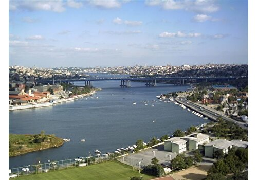 Golden Horn with Cable Car to Pierre Loti Hill