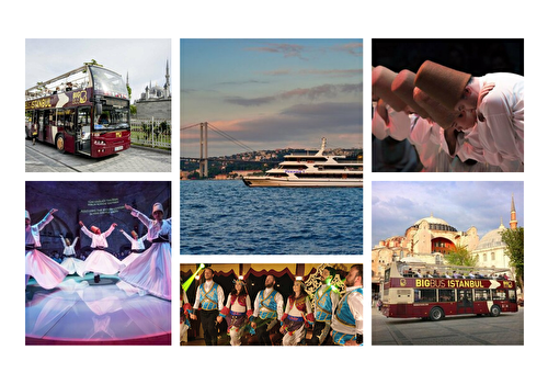 Istanbul Sightseeing and Shows Combo
