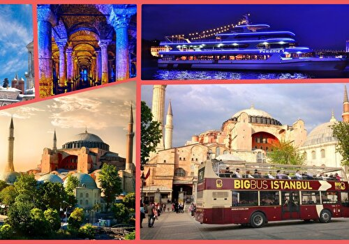 Istanbul Top 5 Attractions Combo