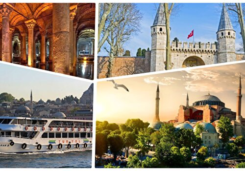 Istanbul Old City Attraction Pass with Bosphorus Cruise