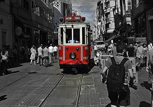 Istiklal Street - Walk in Beyoğlu